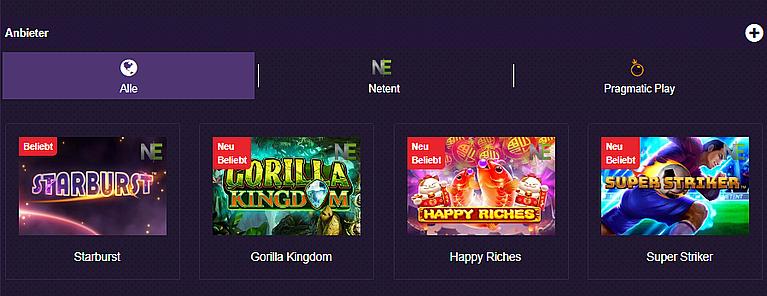 Betzest Casino Spiele