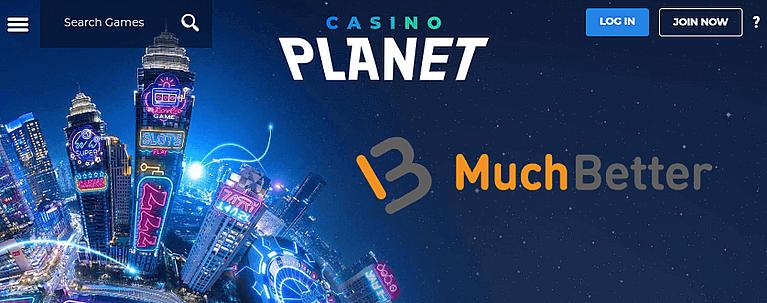 Casino Planet - Casino mit MuchBetter