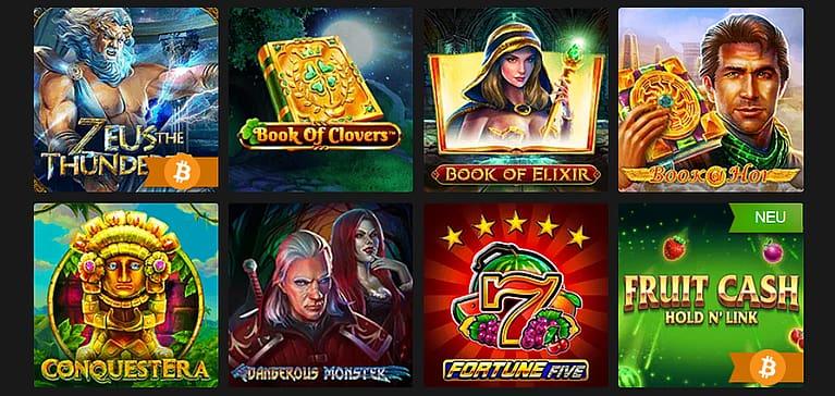 Fastpay Slot Spiele