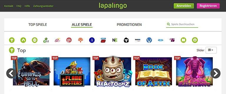 Lapalingo.de Spiele