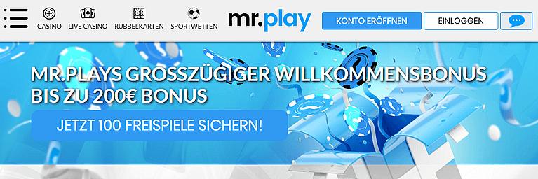 Mr Play Casino Freispiele