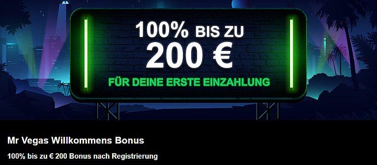 MrVegas Bonus