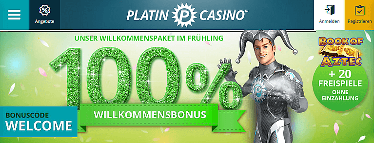 Platin Casino Bonus