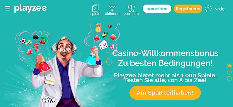Playzee Casino Bonus mit niedrigen Bedingungen