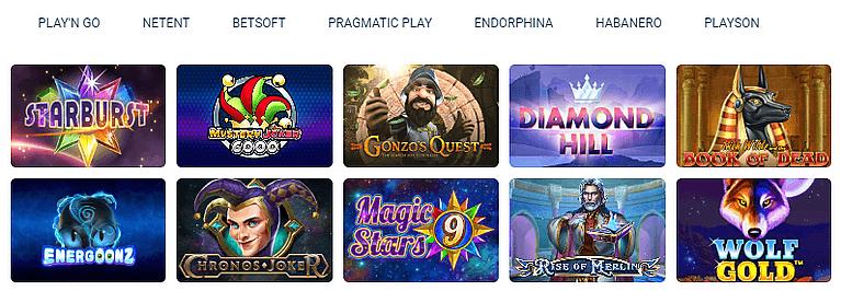 Svenbet Casino Spiele