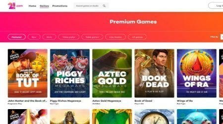21.com Games Canada.