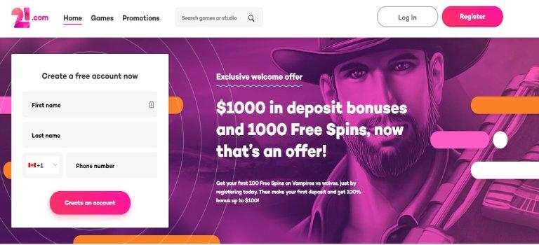 21.com-welcome-bonus