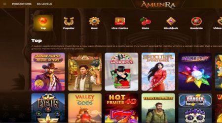 AmunRa top games.