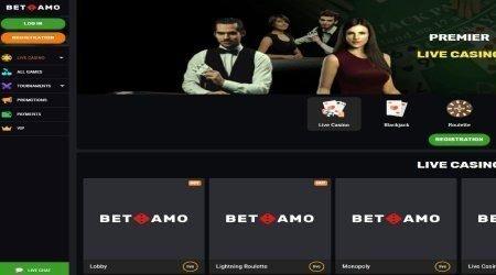 Betamo Live Casino.
