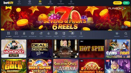 Bettilt Casino Homepage India