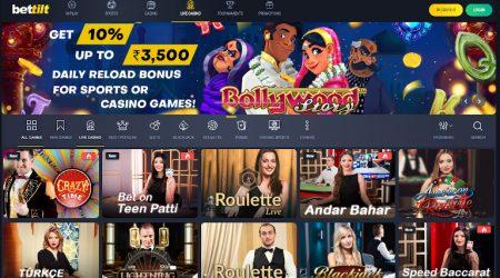 Bettilt Live Casino India