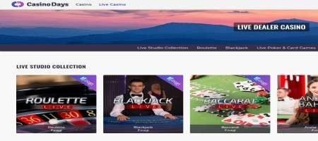 Casino days live dealer casino.