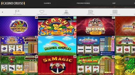Casino cruise games.