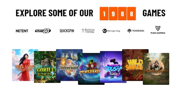 Kazoom Casino India Slot Game Selection