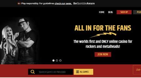 Metal Casino Online Casino homepage