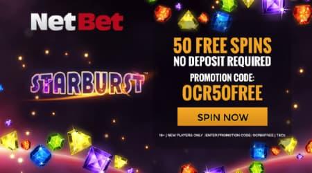 Netbet casino starburst promo