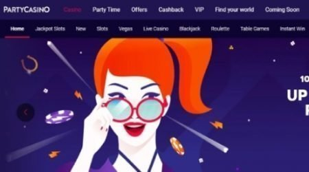 PartyCasino sign up canada.