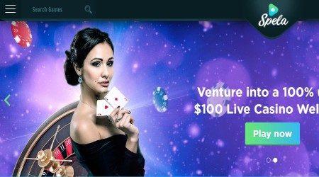 Spela live casino welcome.