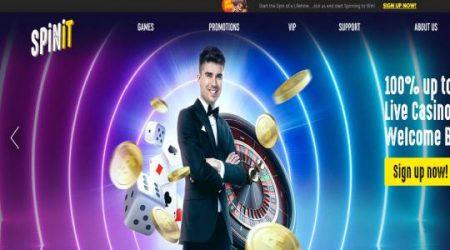 Spinit live casino bonus.