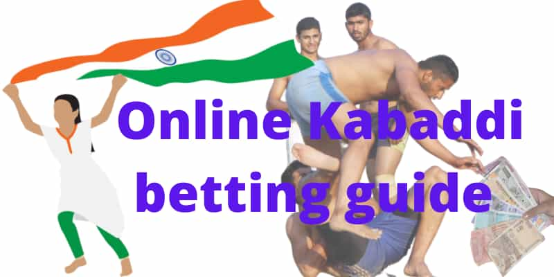 Betting online on Kabaddi in India.
