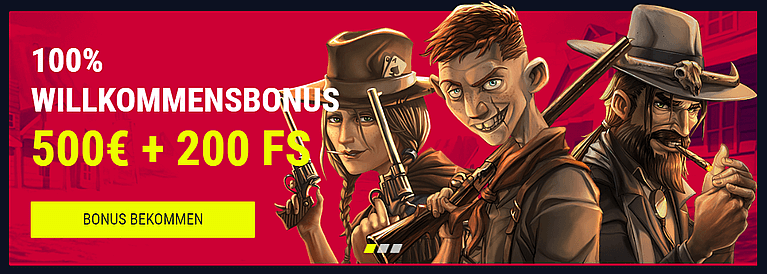 Rabona Casino Bonus für Neukunden