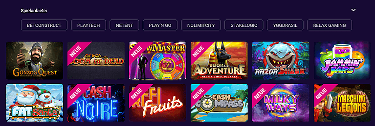 VBEt Casino Spiele