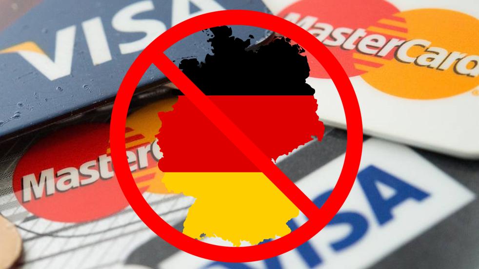 VISA & MasterCard gesperrt für Casinos in Deutschland?