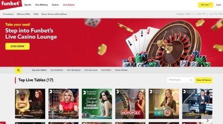 Funbet Sportsbook Casino
