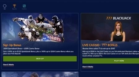 Sports Interaction Casino Bonuses