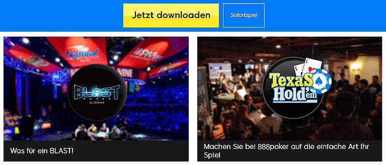 888poker Games & Poker Lobby