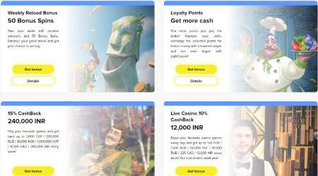 Light Casino India Bonuses and Promotions
