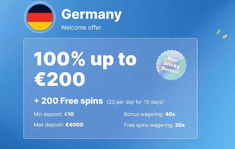 Casino Friday Bonus für Neukunden aus Deutschland