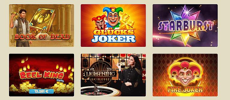 Casino Lab Casino Spiele