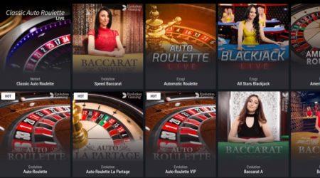 cobra casino live games