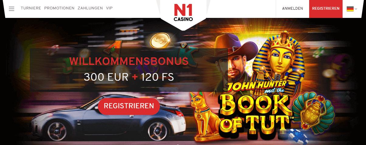 N1 Casino Bonus für Neukunden