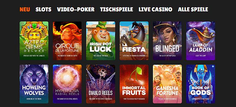 Nitro Casino Spiele & Casino Slots