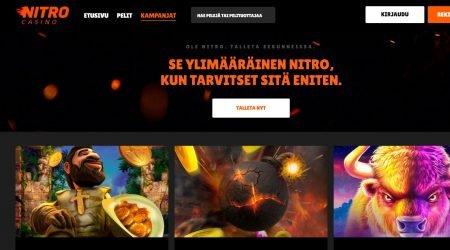 Nitro Casino kampanjat