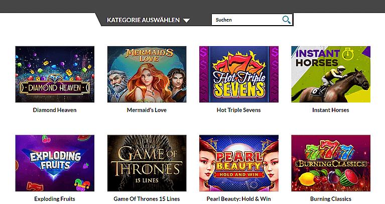 Casino Superlines Spiele & Slots