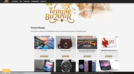 Temple Bazaar Online Casino promotions