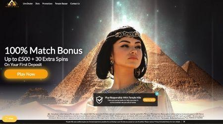 Temple Nile Casino Review