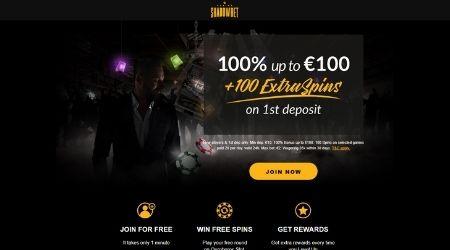 Shadowbet online casino bonus