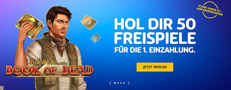 PlayOJO Casino mit Book of Dead Bonus