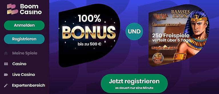 Bom Casino Bonus