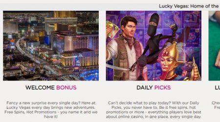 Lucky Vegas casino promotions