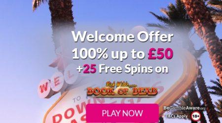 Lucky Vegas casino welcome offer