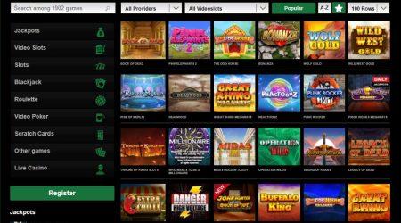 Mr. Vegas casino games