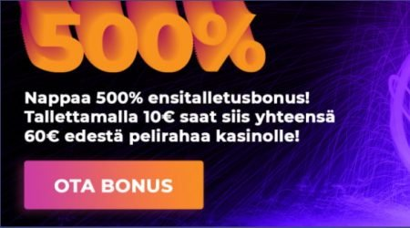 Spin Lovers welcome bonus