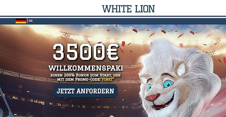 WhiteLion Casino Bonus
