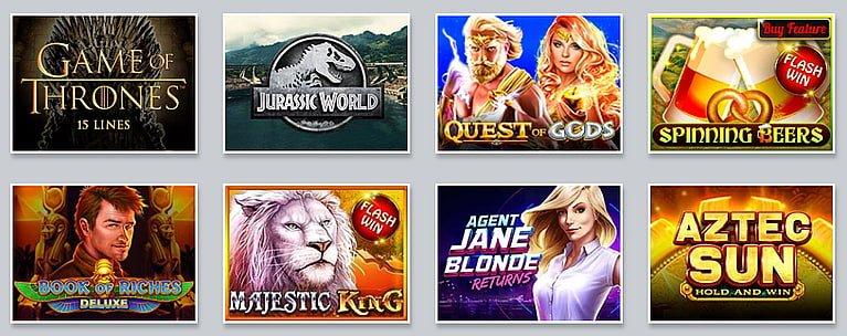 WhiteLion Casino Spiele