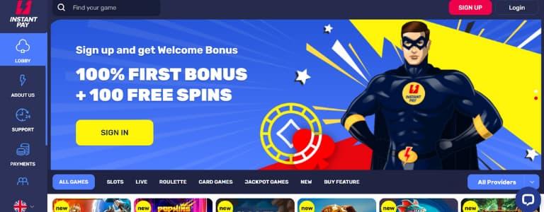 InstantPay Welcome Bonus